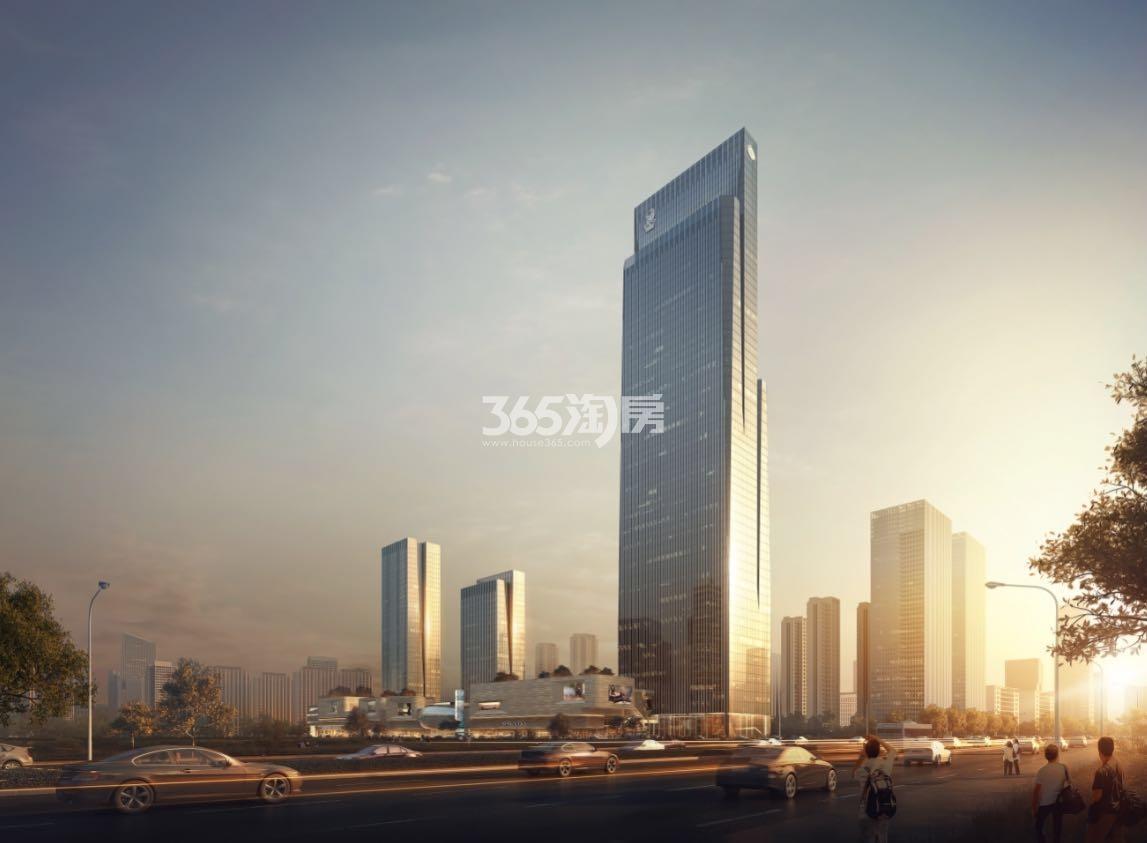 杭州富力中心效果图