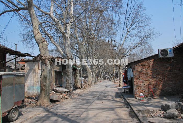 项目附近待拆迁的房屋