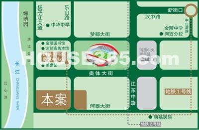 碧瑶花园二期交通图