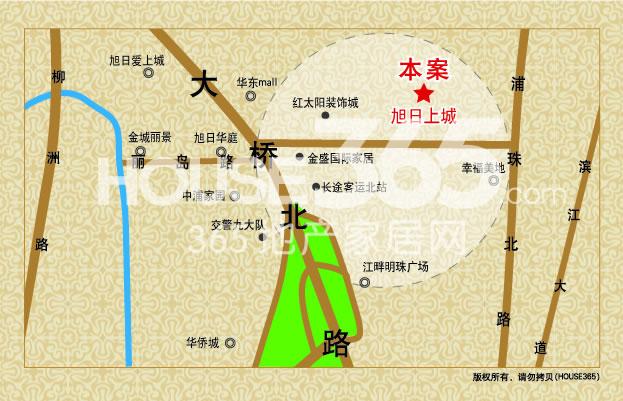 弘阳旭日上城交通图