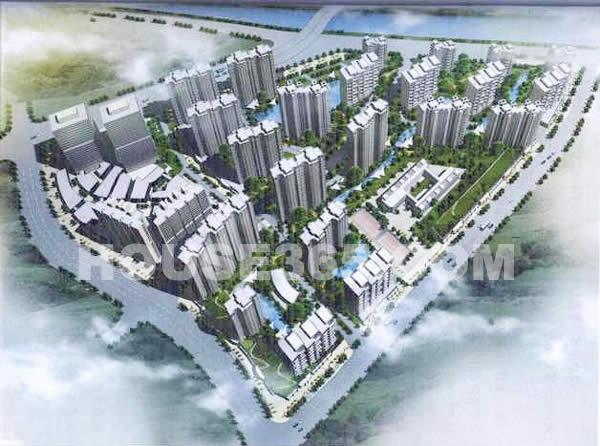 中海凤凰熙岸鸟瞰图