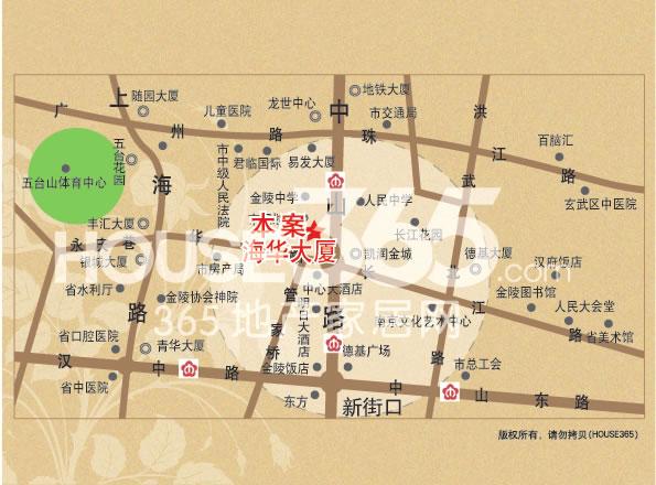 中山路99号交通图