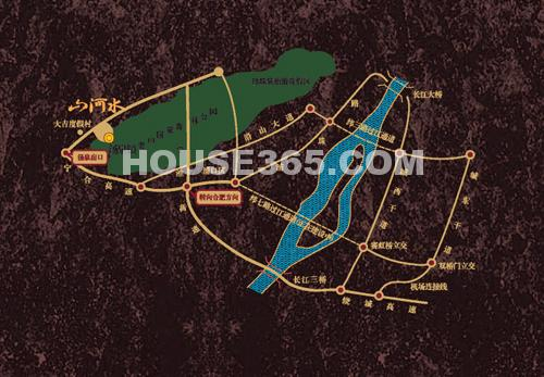 山河水交通图