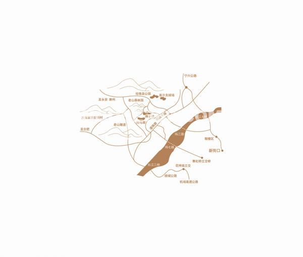 珍珠泉9号交通图