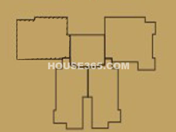 白桦林间27#楼楼层平面图