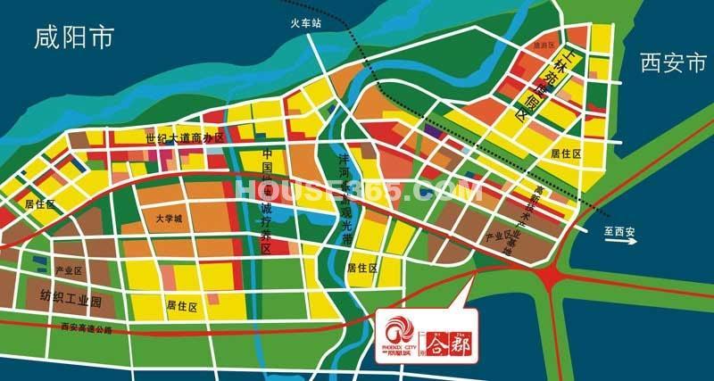 华宇凤凰城交通图