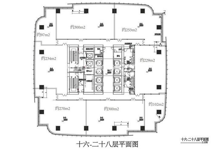 苏州高新广场16—28层