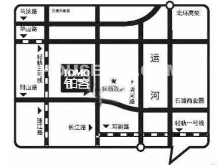 LOMO铂客交通图