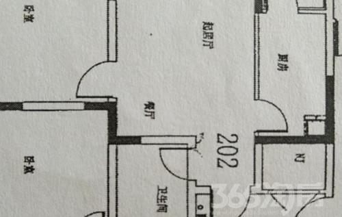 咸水沽鑫洋园 1室1厅1卫银角房型好