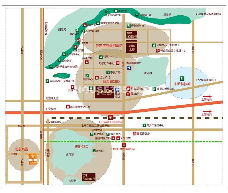 君地新大陆交通图