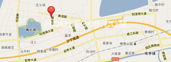中新翠湖交通图