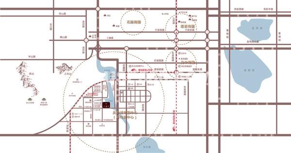 翠湖湾交通图