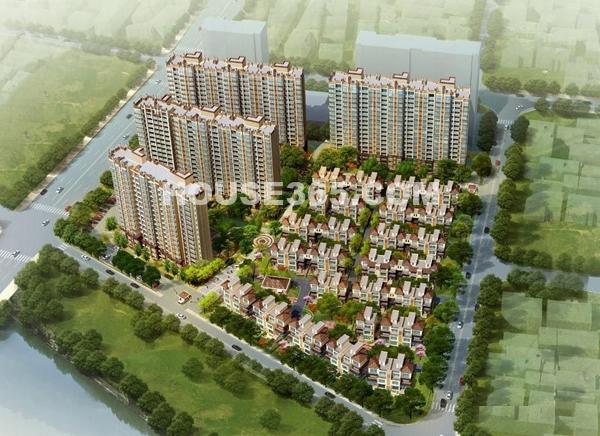珠江首府鸟瞰图