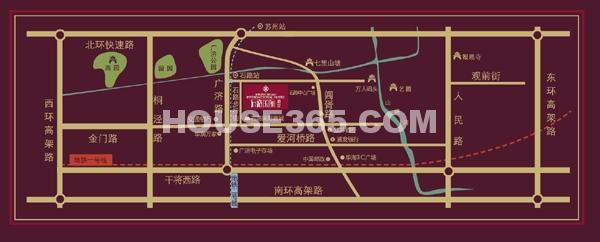 石路国际公寓交通图