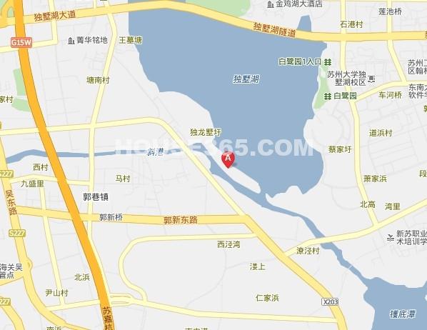 仁恒棠北交通图