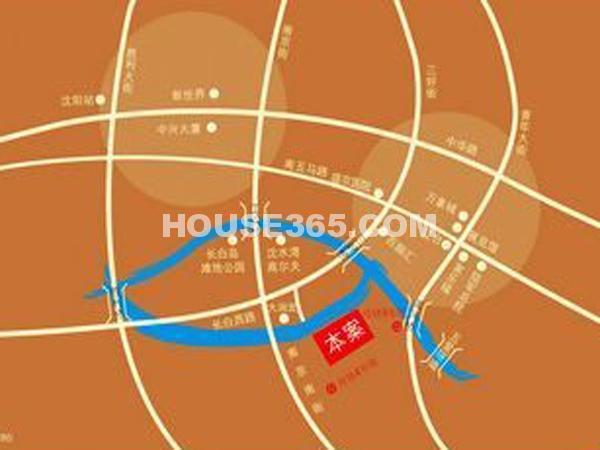 富海澜湾半岛交通图