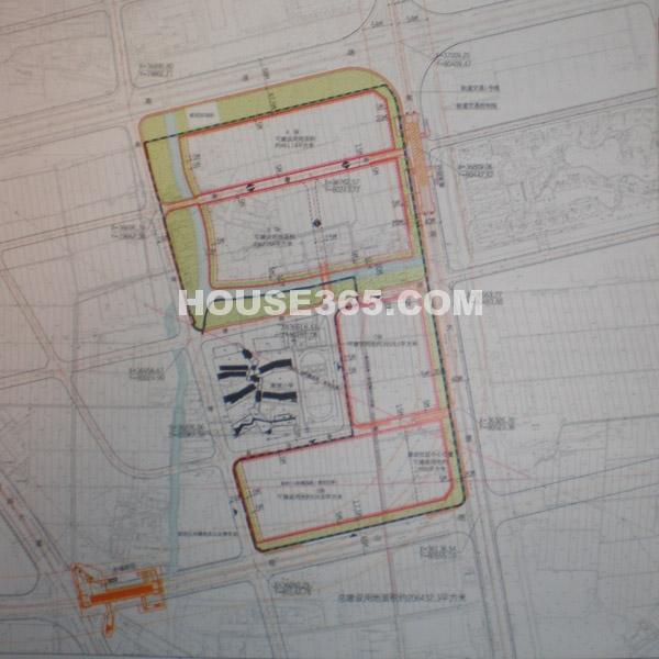 苏宁置业太湖新城地块规划图