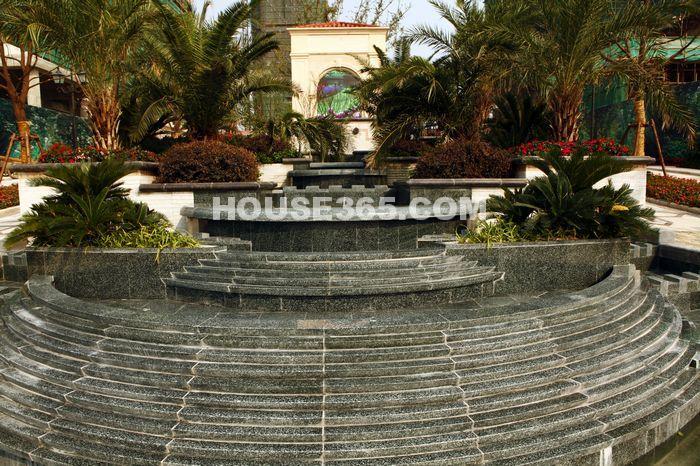 长泰国际社区售楼处主题景观