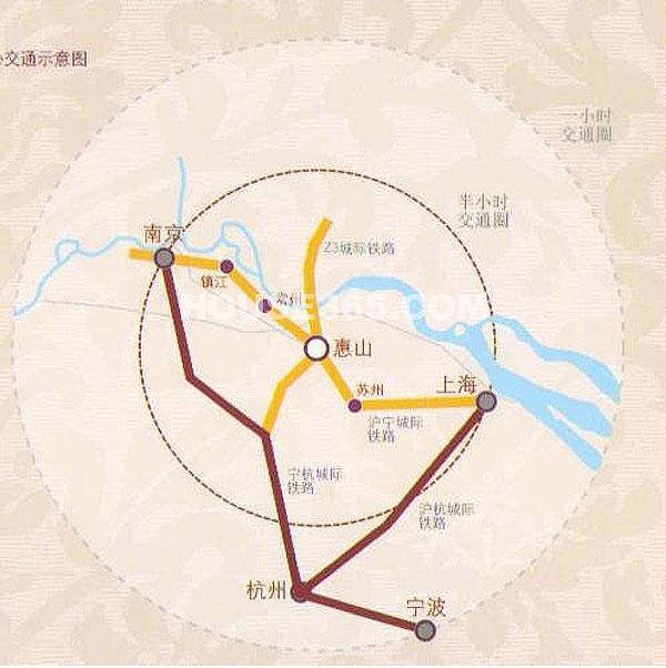 龙泽半岛逸湾交通图
