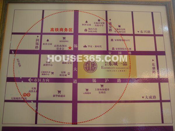 华夏东城一品交通图