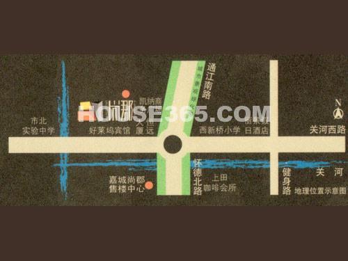 嘉城尚郡交通图