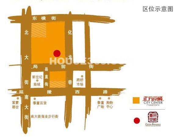 京城豪苑交通图