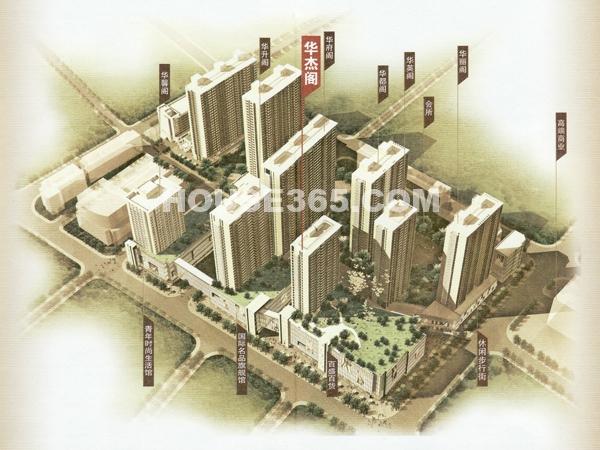 京城豪苑鸟瞰图