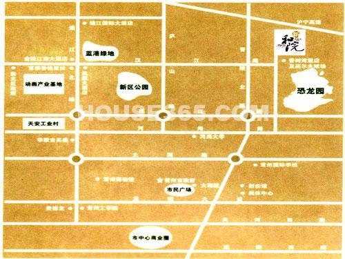 香树湾别墅交通图