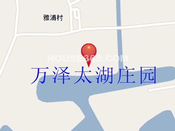 万泽太湖庄园交通图