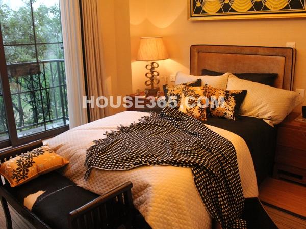 澜香样板房-卧室