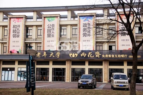 金都檀宫小区实景图(2017.12摄)