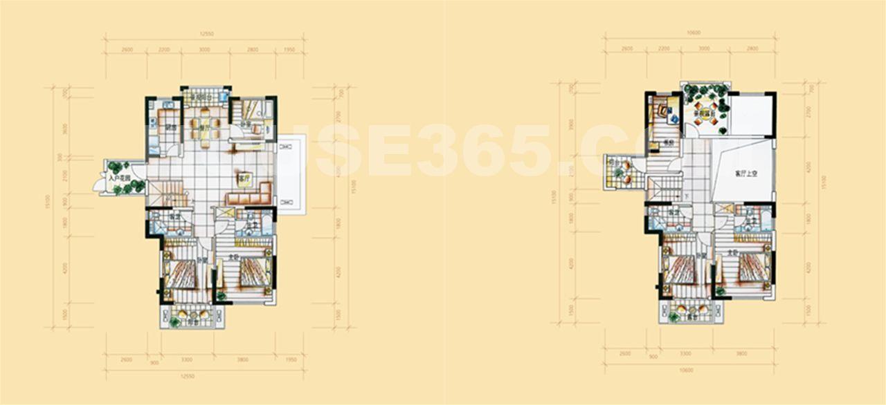 25号楼A'户型226平方米