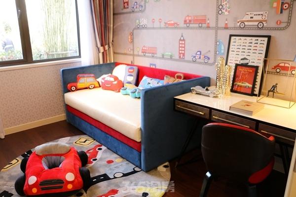 伟星金悦府公园洋房123平样板间——儿童房