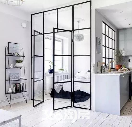 隔断不一定要做墙,家里有这样简单设计,好看到逆天!-365淘房