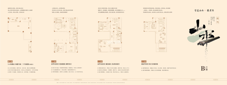 中国院子万振紫蓬湾B户型