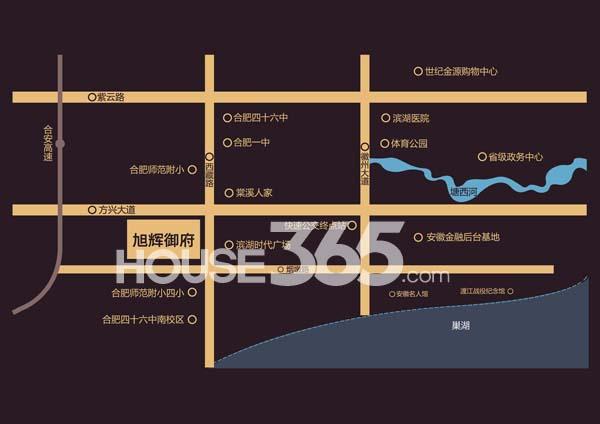 旭辉外滩18栋交通图