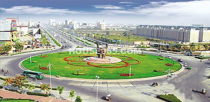 国润城周边-世纪大道转盘(2012年11月15日)