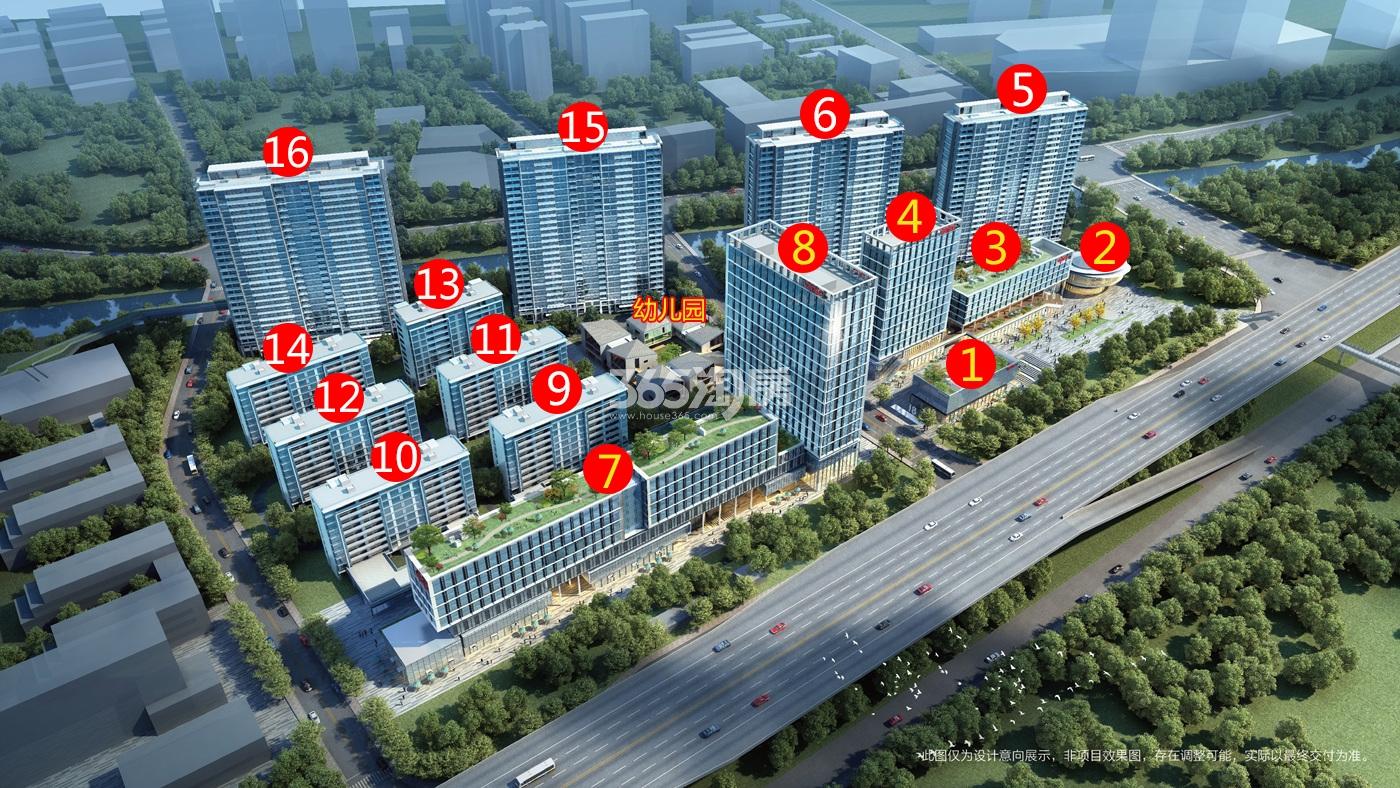 中城汇MIDTOWN鸟瞰图