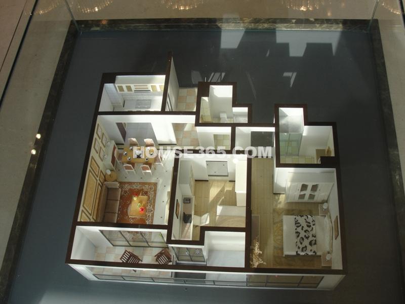瑞立东方花城89方样板模型