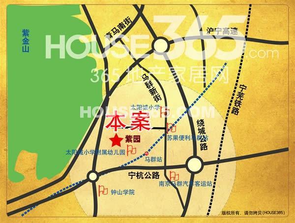 紫园交通图