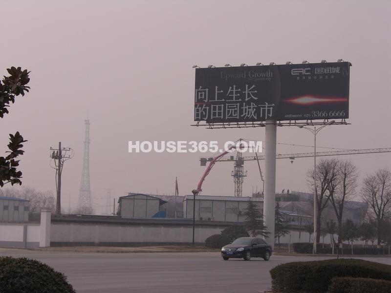 国润城施工进度图(2013年1月7日)