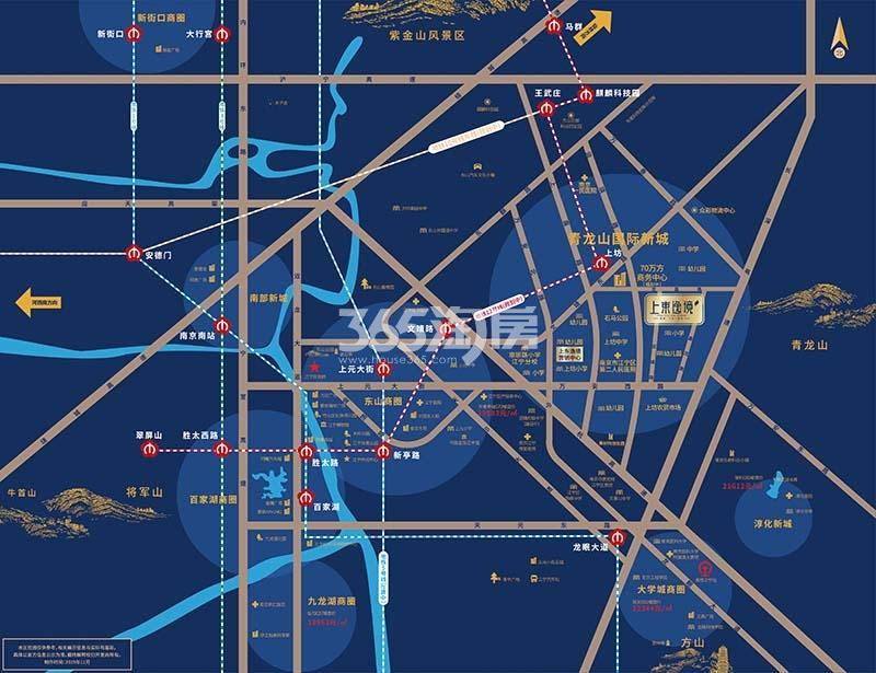 上东逸境交通图