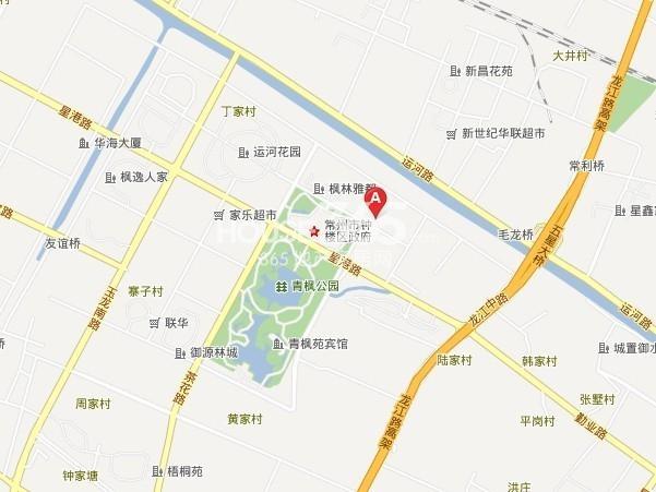 保利公园九里交通图