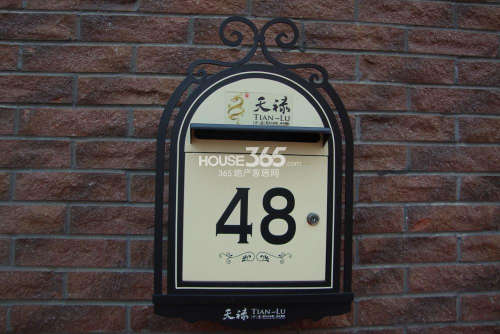 中豪天禄别墅铭牌(2.25)