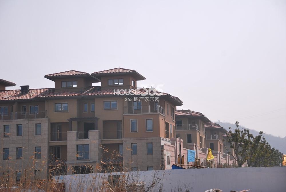 """高科荣境A-1地块里的""""南加州""""风格联排、叠加别墅(2.22)"""