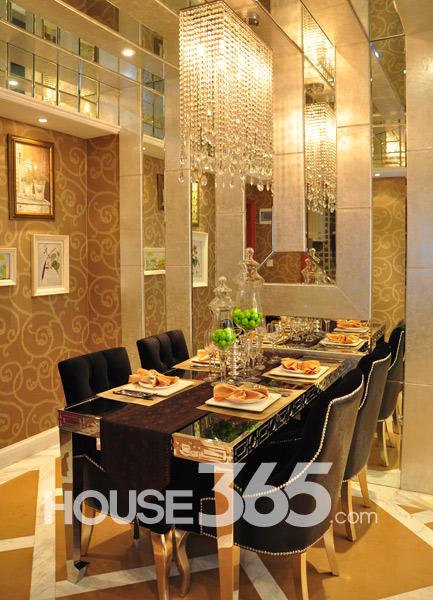 86平样板房-餐厅