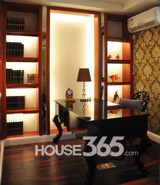 124平样板房-书房