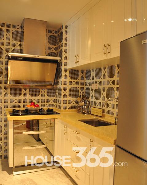 86平样板房-厨房