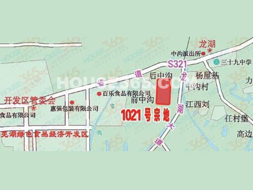 大昌龙湖商业广场交通图