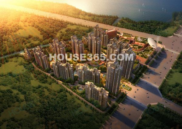 大昌龙湖商业广场鸟瞰图